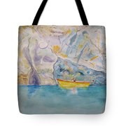 Man In Boat, Lerici Tote Bag