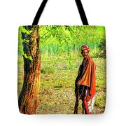 Man In Shade Tote Bag