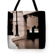 Man In Shadows Tote Bag