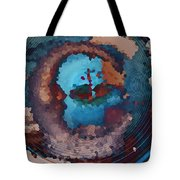Man In The Moon Daydream Tote Bag