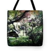 Man In The Park Tote Bag