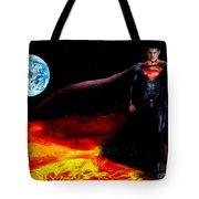 Man Of Steel  Tote Bag