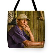 Man Of The House Tote Bag by Allen Sheffield