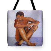 Man Study Tote Bag