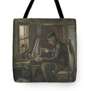 Man Winding Yarn Nuenen, May - June 1884 Vincent Van Gogh 1853  1890 Tote Bag