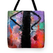 Man With Arms Akimbo Tote Bag