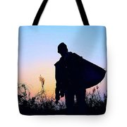 Man With Bag Tote Bag