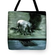 Man With Dog  Tote Bag