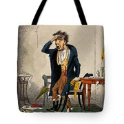 Man With Excruciating Headache, 1835 Tote Bag