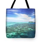 Mana Island Waters Tote Bag