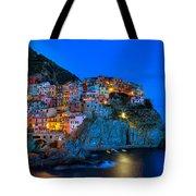 Manarola - Cinque Terre In Widescape Tote Bag