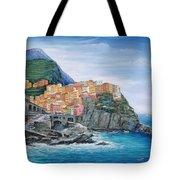 Manarola Cinque Terre Italy Tote Bag