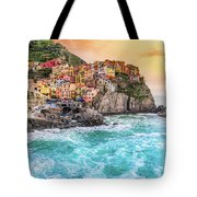 Manarola - Cinque Terre National Park - Liguria - Italy Tote Bag