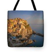Manarola Golden Hour Tote Bag