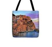 Manarola Rainbow Of Colors Tote Bag