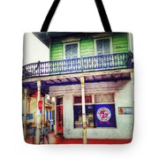 Manass's Grocery From Front Tote Bag