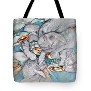 Manatee Party Tote Bag