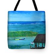 Manatee Refuge Part 2 Tote Bag