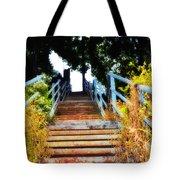 Manayunk Steps Tote Bag