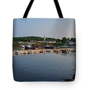 Manchester Harbor Manchester By The Sea Ma Tote Bag