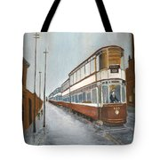 Manchester Piccadilly Tram Tote Bag