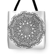 Mandala - Amulet 869 For Those Born In ..... Tote Bag