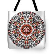 Mandala - Amulet 873 For Those Born In ..... Tote Bag
