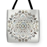 Mandala Earth And Water 4 Tote Bag