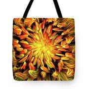 Mandala Flower  Tote Bag