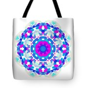 Mandala Image #7 Created On 2.26.2018 Tote Bag