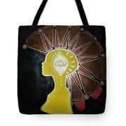Mandala Mohawk  Tote Bag