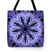 Mandala Ocean Wave Tote Bag