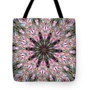 Mandala Of Cherry Blossom Tote Bag