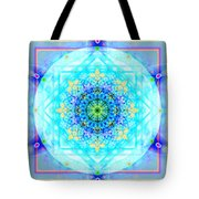 Mandala Of Womans Spiritual Genesis Tote Bag