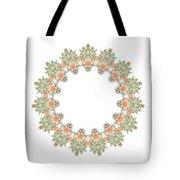 Mandala/photoart Orange Flowers-1 Tote Bag