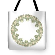 Mandala/photoart Orange Flowers-2 Tote Bag