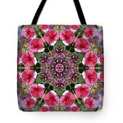 Mandala Pink Patron Tote Bag