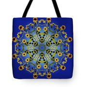 Mandala Sunflower Tote Bag