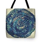 Mandala Tangled Digital Tote Bag