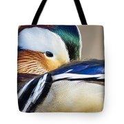Mandarin Closeup Tote Bag