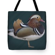 Mandarin Duck II Tote Bag