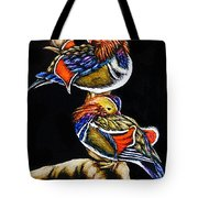 Mandarin Ducks - Sa106 Tote Bag