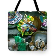 Mandarin Goby Hanging With Emerald Turtles Tote Bag