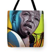 Mandela Watching Tote Bag