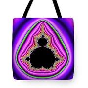 Mandelbrot Set Bold And Trippy Tote Bag