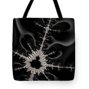 Mandelbrot Set On A Mission Tote Bag
