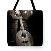 Mandolin America Antique Tote Bag