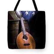 Mandolin America Tote Bag by Barry C Donovan