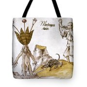 Mandrake And Herbalist Tote Bag