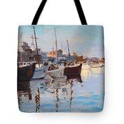 Mandraqi Rhodes Greece Tote Bag by Ylli Haruni
